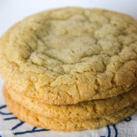 crunchy chewy bakery-style sugar cookies