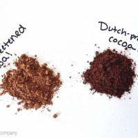 dutch-processed vs. natural cocoa powder