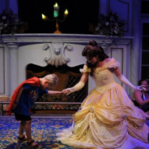 Dancing with Belle