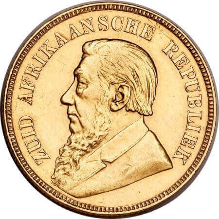 obverse side of the Kruger Pond coin