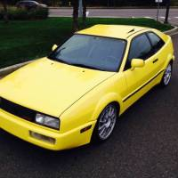 Yellow VW Corrado G60 1990