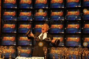"at the ceremony entering ""Jeopardy"" in to the Guinness World Records for being the game show with the most Emmy Awards. Sony Studios, Culver City, CA. 11-01-05"