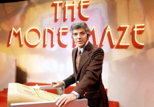 Host Nick Clooney on the set of the pilot (ABC)