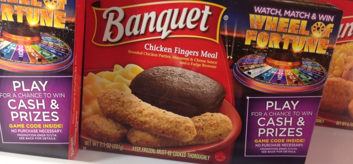 Wheel of Fortune and Banquet Meals Announce Sweepstakes