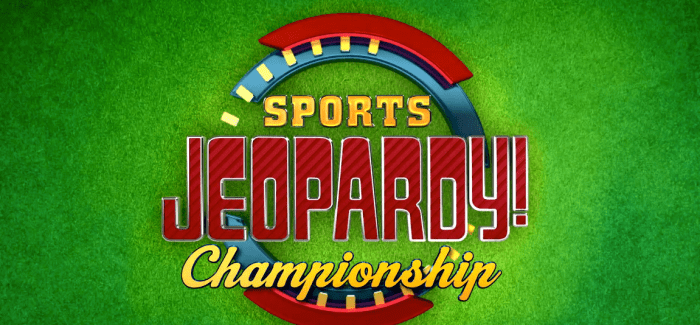 Sports Jeopardy! Begins First Championship Playoff