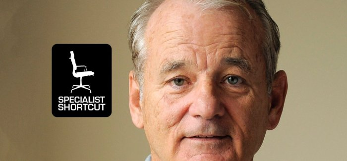 Specialist Shortcut: The Big Bad Book of Bill Murray