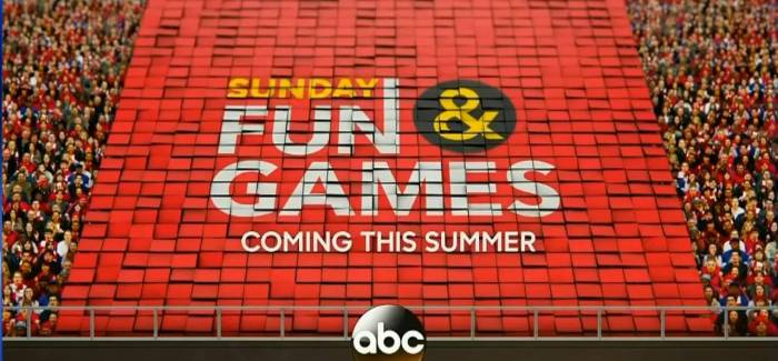 ABC's Sunday Fun and Games Debuts Tonight at 8:00PM ET