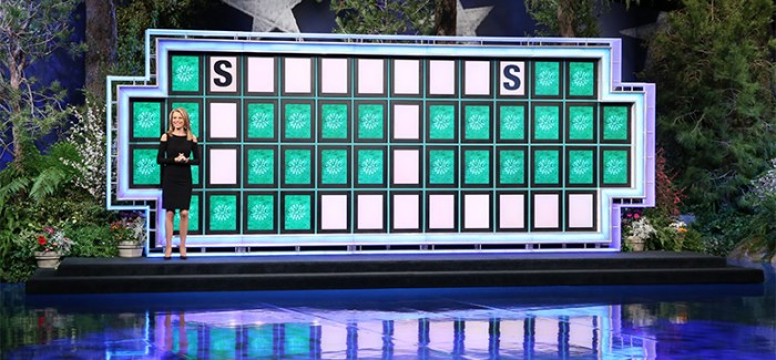 Wheel of Fortune Testing Crossword Puzzles