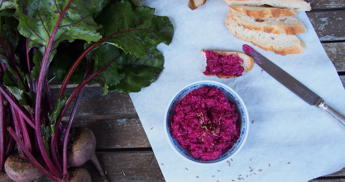 Beetroot & Horseradish Dip, The Rosedog Blog, www.therosedogblog.me