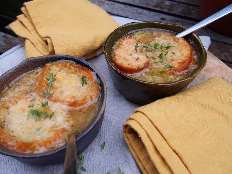 French Onion Soup By Rosie, recipe over on www.therosedogblog.me