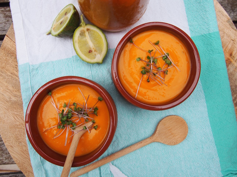 Red Pumpkin Soup, Vegan Soup Ideas, The Rosedog Blog, Recipes By Rosie, www.therosedogblog.me