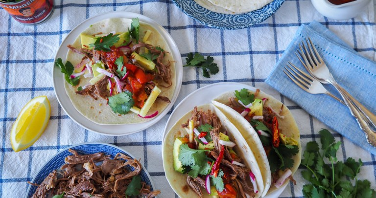 Shredded Beef Rib Tortillas