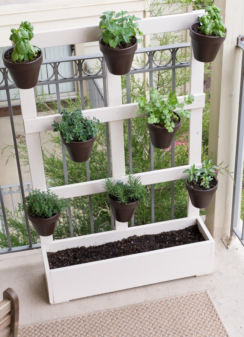 Fullsize Of Wooden Herb Garden Planters