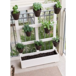Small Crop Of Wooden Herb Garden Planters