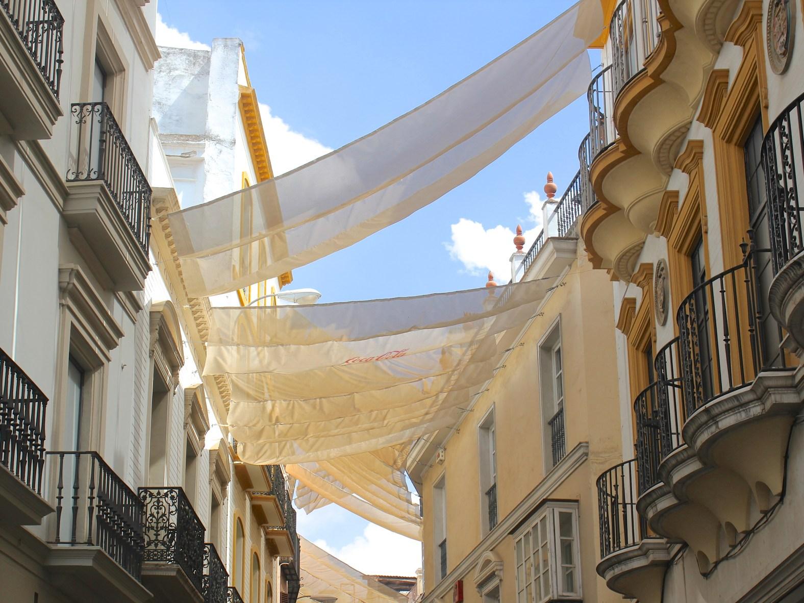 Sevilla in de zomer