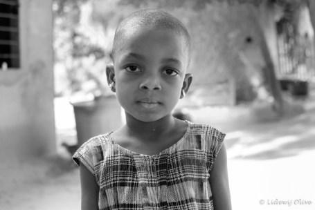 beautiful girl from a village, Ghana, Atsiekpie, village