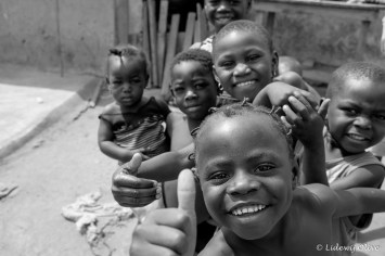 Children in Larabanga, Ghana