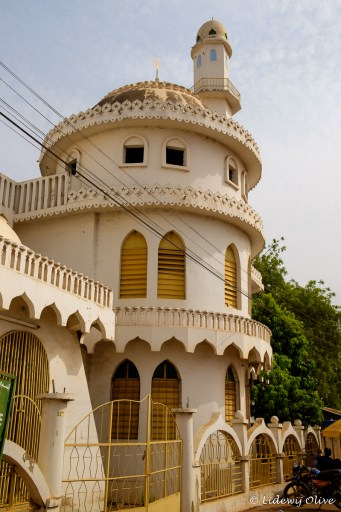 Mosque in Tamale, Ghana