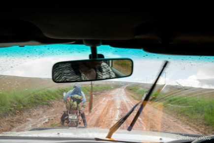 Roead to Kitulo NP: not so good, but motorbikes still try