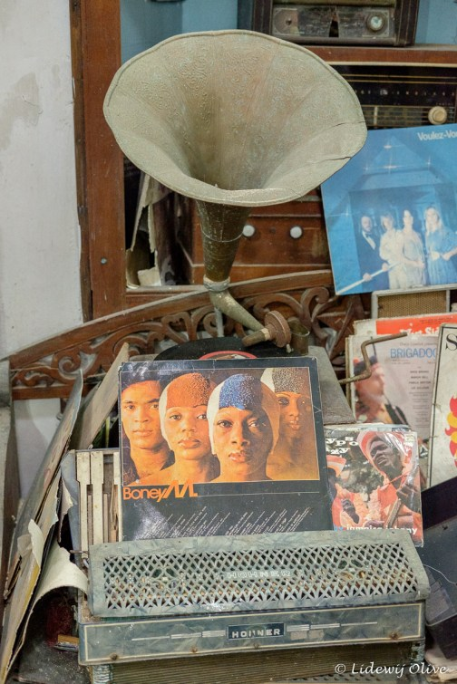 Boney M. in a museum in Galle
