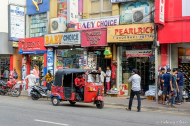 Street in Colombo bazaar