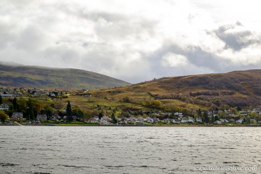 Fort William seen from the loch