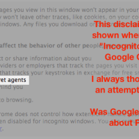 Google's Warning about PRISM in Chrome