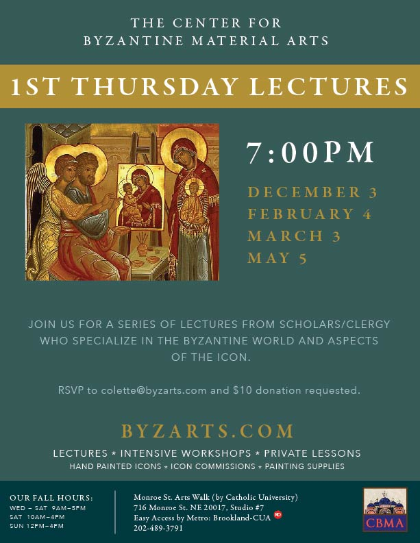 Iconography Lecture: Washington, DC @ The Monroe St. Arts Walk by Catholic University on  | Washington | District of Columbia | United States