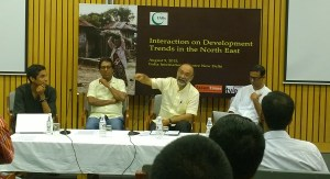 Interaction on development trends in North East held in Delhi