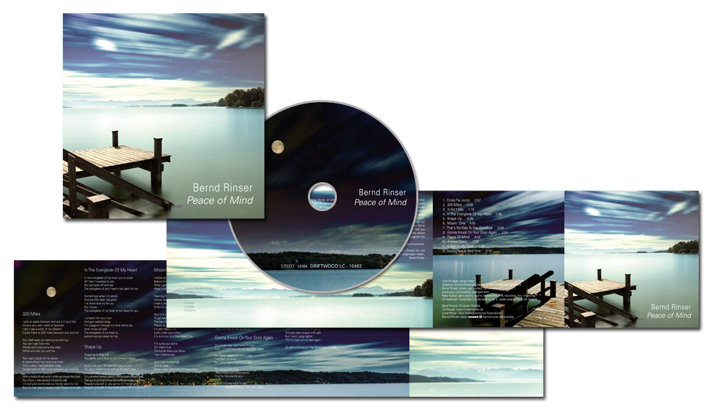 CD | Bernd Rinser | Peace of Mind