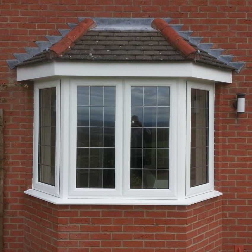 Upvc windows and doors from c thru windows telford for Bay window replacement windows