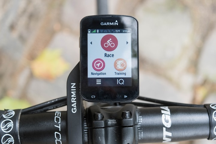 Hands-on with Garmin's new Edge 820 with mapping
