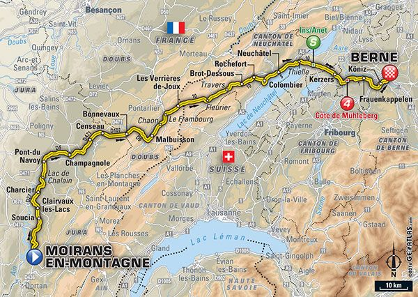 Tour de France 2016 live stream: Time, TV schedule and route for Stage 16