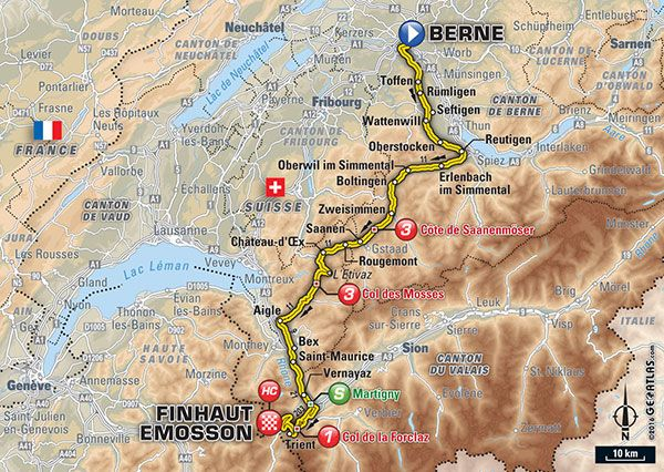 Tour de France 2016 live stream: Time, TV schedule and route for Stage 17