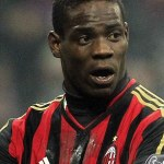 Italian soccer player Mario Balotelli.