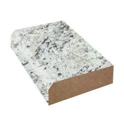 Small Crop Of White Ice Granite