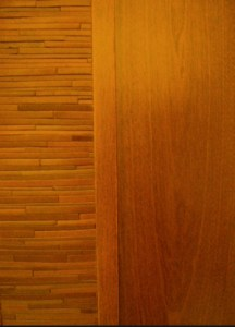 leather and wood door panel ocher  216x300 Sharing Solutions...