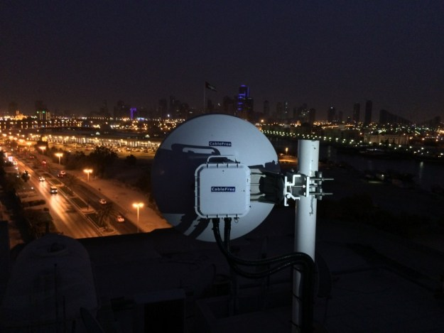 CableFree MMW Safe City Network in the UAE
