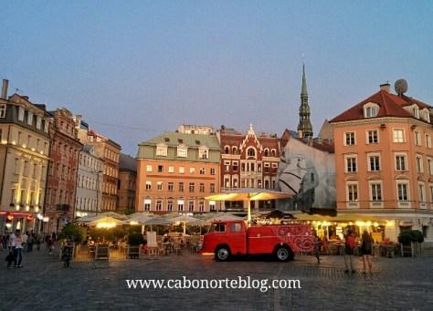 Plaza de la Catedral de Riga