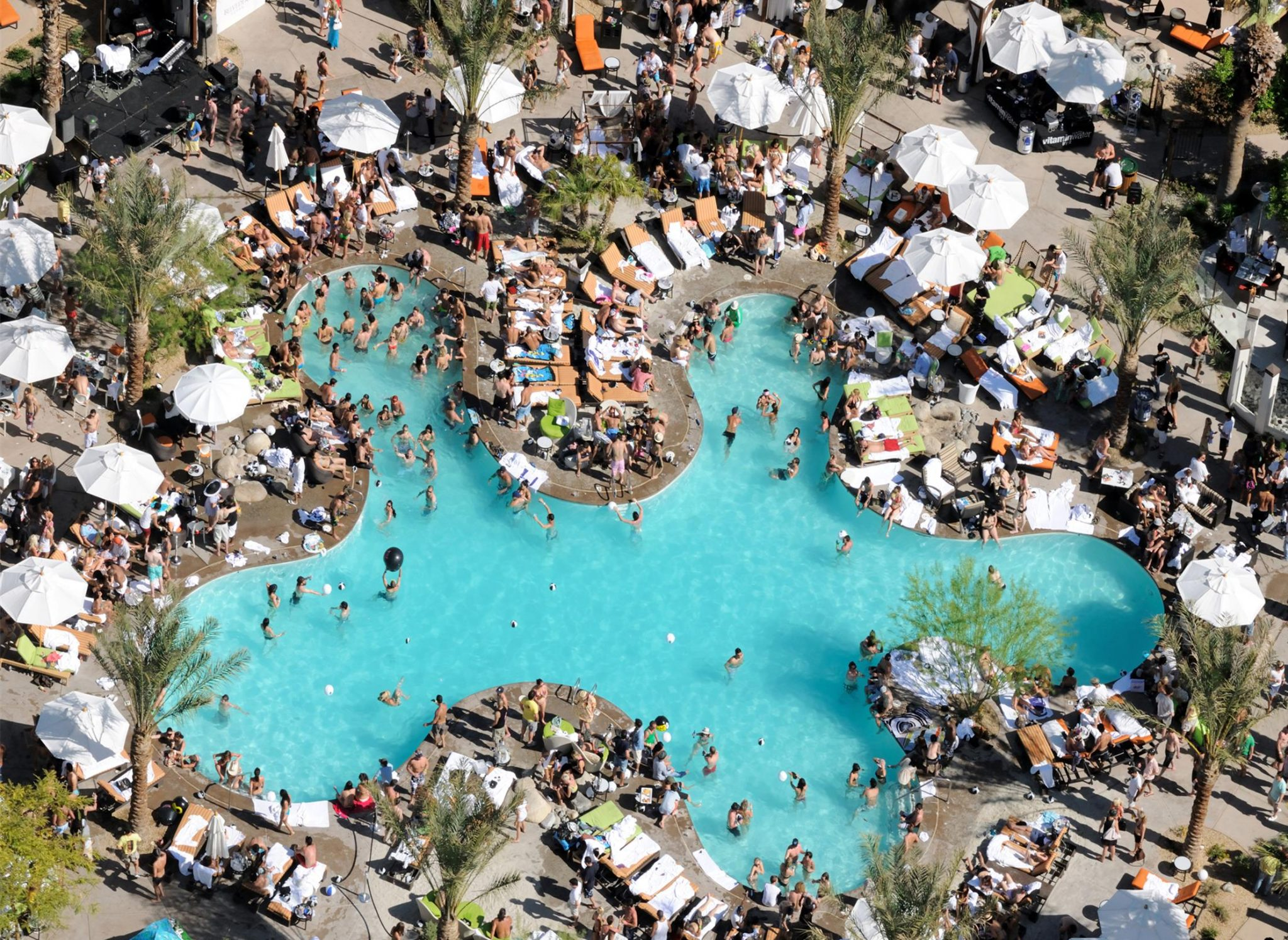 The palm springs riviera pool party is back and as a coachella valley