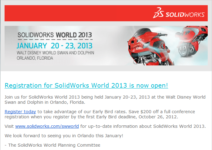 SWW2013 Registration Now Open!
