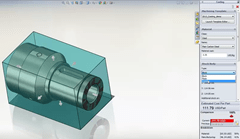 SolidWorks Costing now supports turning operations