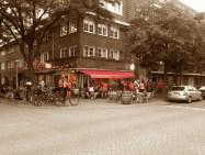 Oranje terras Café Blek