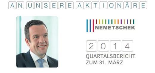 Schönes Plus: Nemetschek hat im ersten Quartal 2014 beim Umsatz deutlich zugelegt.