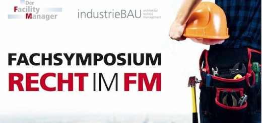 """Um Rechtsfragen im Facility Management geht es beim Fachsymposium """"Recht im FM"""" am 22. September"""