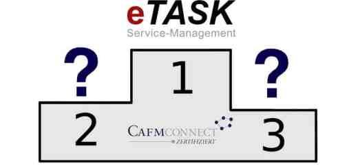 eTask ist als erste CAFM-Software für CAFM-Connect 2.0 zertifiziert