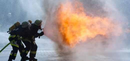 Brandschutz ist ein wichtiges Thema der Fachmesse Security 2014 in Essen und belegt dort zwei Hallen