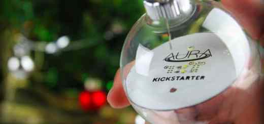 Das Start-up Aura will die erste kabellose leuchtende Christbaum-Kugel auf den Markt bringen