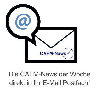 Die CAFM-News der Woche direkt in Ihr E-Mail Postfach