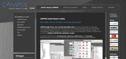 website von campos cafm software